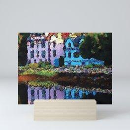 Embossed Countryside Mini Art Print