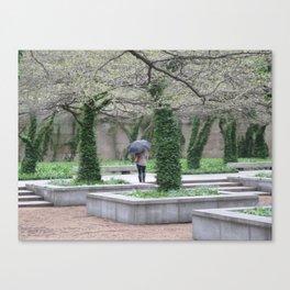 Single Rainy Day Canvas Print