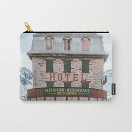 Hotel Belvedere, Switzerland Carry-All Pouch