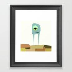 It's A Monster  Framed Art Print