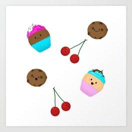 cute sweets Art Print