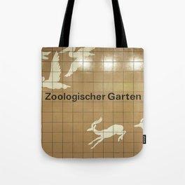 Berlin U-Bahn Memories - Zoologischer Garten Tote Bag
