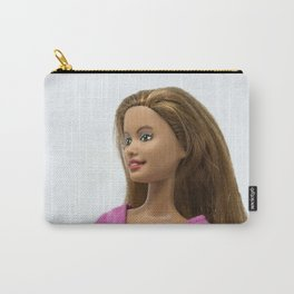 Woman with Green Eyes Carry-All Pouch