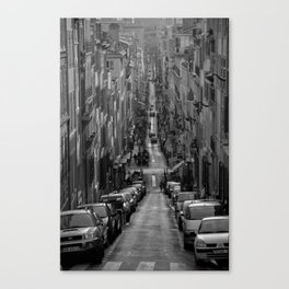 Compression, Marseille Canvas Print