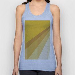 New Heights - Gold Unisex Tank Top
