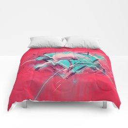 Neon Solstice Comforters