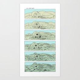 life after death Art Print