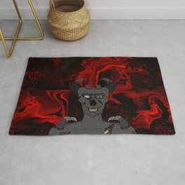 Demon from Hell Rug
