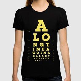 Jed Eye Chart T-shirt