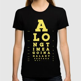Jed Eye Chart T-shirt