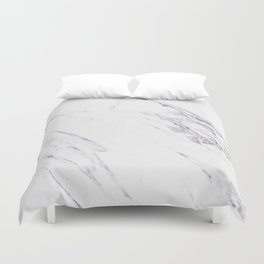 Marble - Classic Real Marble Duvet Cover