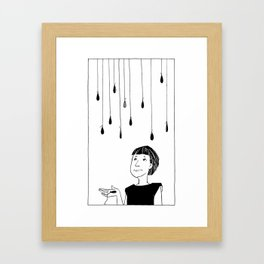 This Rain Sucks Framed Art Print