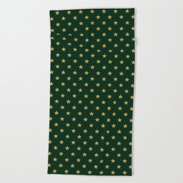 Pattern Stars Beach Towel