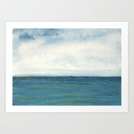 Shining Sea Art Print