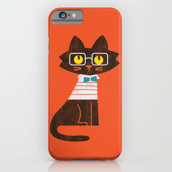 Fitz - Preppy cat iPhone & iPod Case