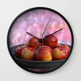 APPLE TIME Wall Clock