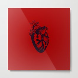 Here's My Heart Metal Print