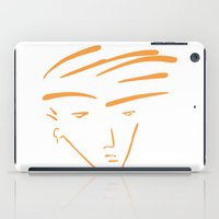 the dude iPad Cases featuring Dude by thisisddm