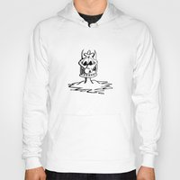 cartoon Hoodies featuring Cartoon Meltdown by yahtz designs