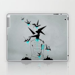 Origami's dream - A collaboration between Christelle Guilhen and Gwenola de Muralt - Laptop & iPad Skin