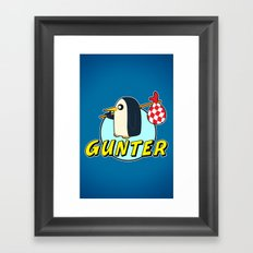 Pingu Time Framed Art Print