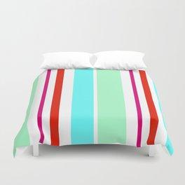 Stripes in colour 2 Duvet Cover