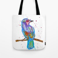 coco Tote Bags featuring coco by Laurie Art Gallery
