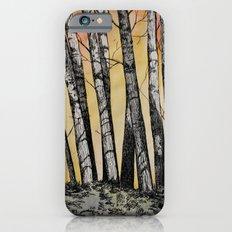 Row of Trees Slim Case iPhone 6s