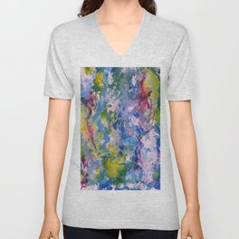 Raining Color Unisex V-Neck