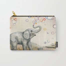 Elephant Bubble Dream Carry-All Pouch