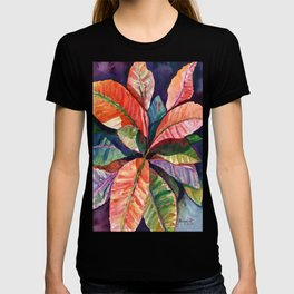 Colorful Tropical Leaves 1 T-shirt