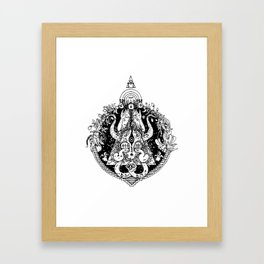 Orion and Scorpius Framed Art Print