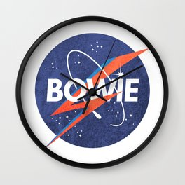 Iconic Bowie Wall Clock