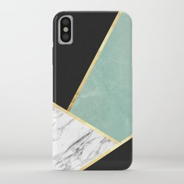 Art with marble V iPhone Case