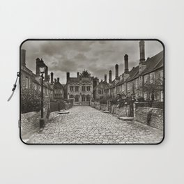 Vicars Close In The City Of Wells Laptop Sleeve