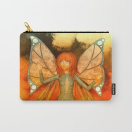 Butterfly Love Faerie Kissed By The Sun Carry-All Pouch