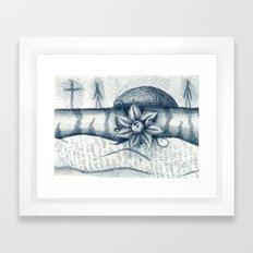 eyie Framed Art Print