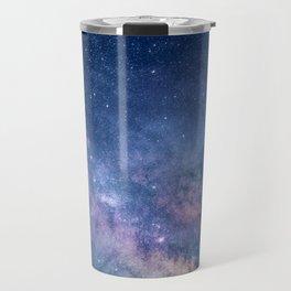 Purple Glitter Galaxy Travel Mug