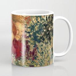 Woman in a Striped Dress by Édouard Vuillard - Les Nabis Oil Painting Coffee Mug