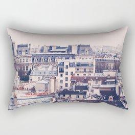 Paris Rooftops Reprise Rectangular Pillow