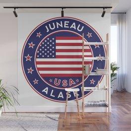 Juneau, Alaska Wall Mural