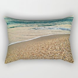 Boatload of Shells Rectangular Pillow