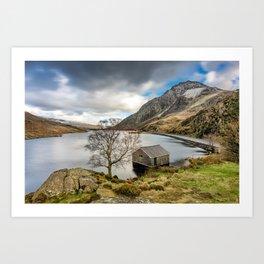 Lake Ogwen Snowdonia Art Print