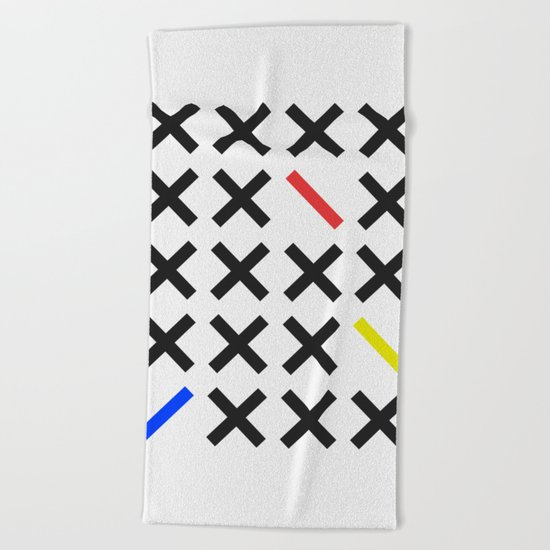 Minimalism 3 Beach Towel
