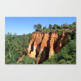 Roussillon France Canvas Print