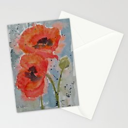 Poppy Poppy Pop Stationery Cards