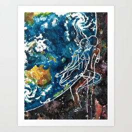 Mother Earth and Father Sky Make Love Art Print