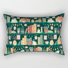Hygge library Rectangular Pillow