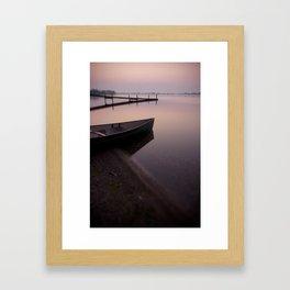 Sunrise at Cherry Beach, Toronto Framed Art Print