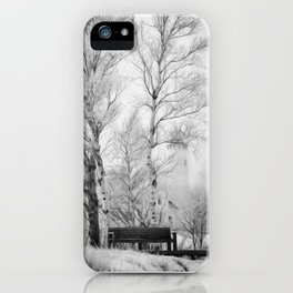 Pt. Iroquois Winter iPhone Case